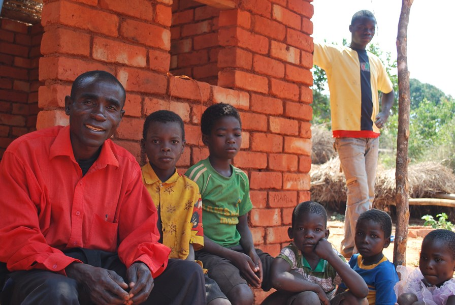 Konica lost his parents and siblings to HIV he wants to protect his children.JPG