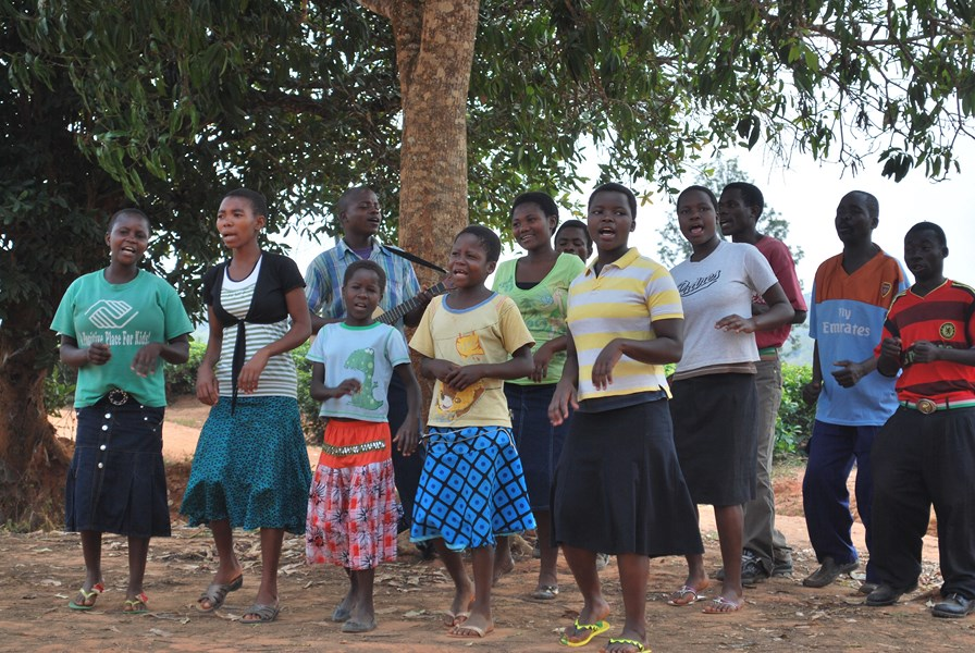 Lweya church youth choir.JPG